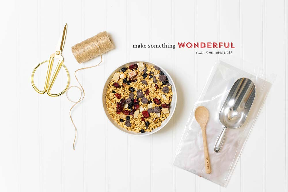 DIY Granola Gift Basket: The Perfect Gift to Support Those Healthy New Years Resolutions