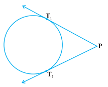 Lengths of tangents drawn from external point