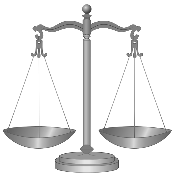 Source: https://commons.wikimedia.org/wiki/File:Scale_of_justice.png