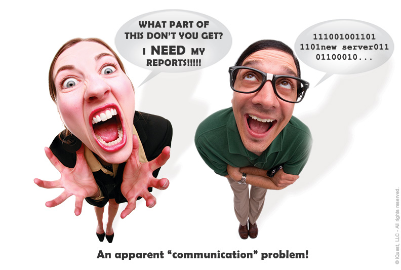 An apparent communication problem