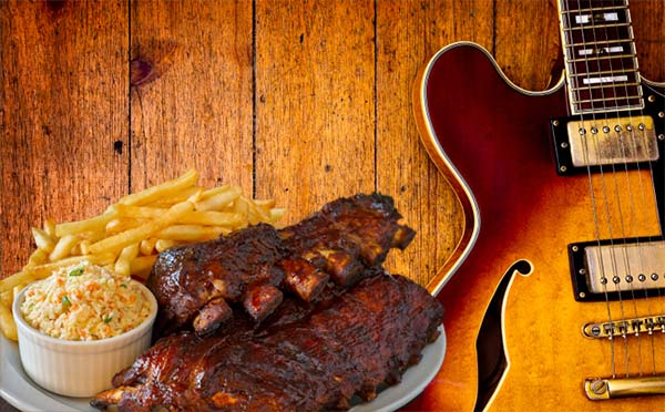 Image result for blues and barbecue