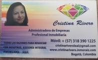 Cristina Rivero - Independiente