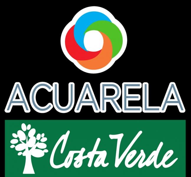 Acuarela Costa Verde