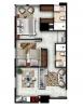 Apartamentos de 2 habitaciones + parqueo