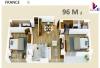 Apartamento 96m2 + 1 parqueo