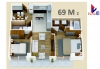 Apartamentos 69m2 + 1 parqueo