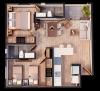 Modelo 2 dormitorios