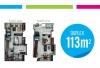 Valle Topacio Pent House 113 m2
