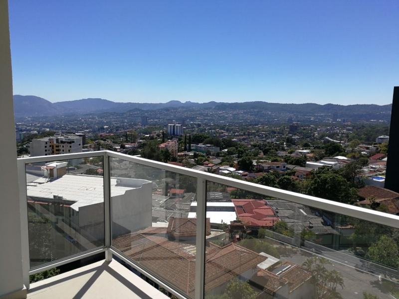 ALQUILO APARTAMENTO SPAZIO COLONIA ESCALON, NUEVO A ESTRENAR CON VISTA , SIN MUEBLES, 3 habitaciones, sala, comedor, cocina abierta con pantries, terraza, area de servici