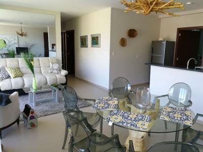 ALQUILO APARTAMENTO SPAZIO COLONIA ESCALON, NUEVO A ESTRENAR CON VISTA , FULL-AMUEBLADO, 3 habitaciones, sala, comedor, cocina abierta con pantries, terraza, area de serv