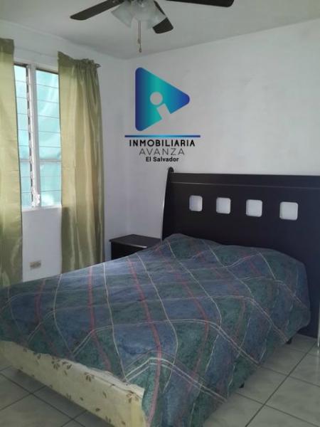 Bonito apartamento amueblado en San Benito, seguridad 24/7, 3 hab a sólo $775