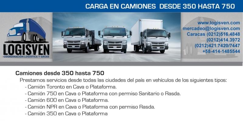 Servicio y Alquiler de Camiones 750