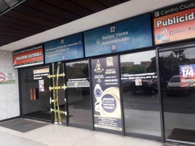 OFICINA CENTRO COMERCIAL CUIDAD TAMANACO
