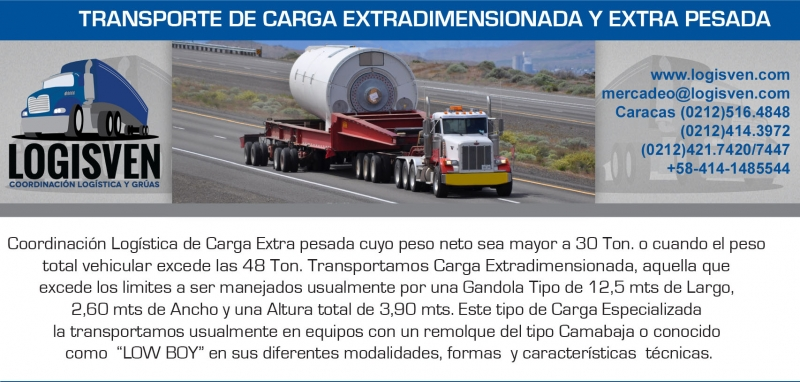 Transporte en Gandolas 30 Toneladas