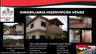 Se Vende Casas en Villa Santa Barbara