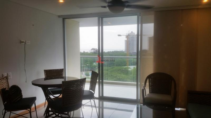 Apartamento amoblado con hermosa vista