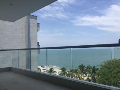 apartamento frente a playa En venta Santa Marta