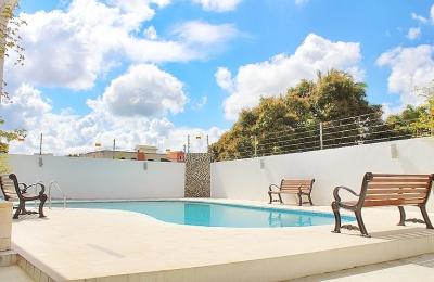 Apartaestudio renta torre quintas rincon largo con piscina
