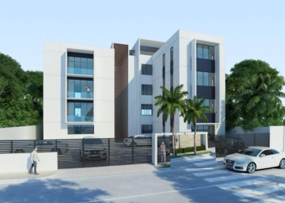 Apartamentos modernos de solo 12 apartamentos con área social