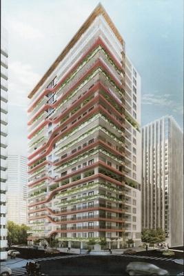 Edificio inteligente y ecológico OM