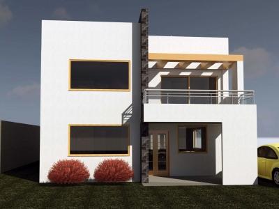 Casa por estrenar en etapa de acabados, Urbanización La Marca, 490m2 de terreno,228m2 de construcción $198.000