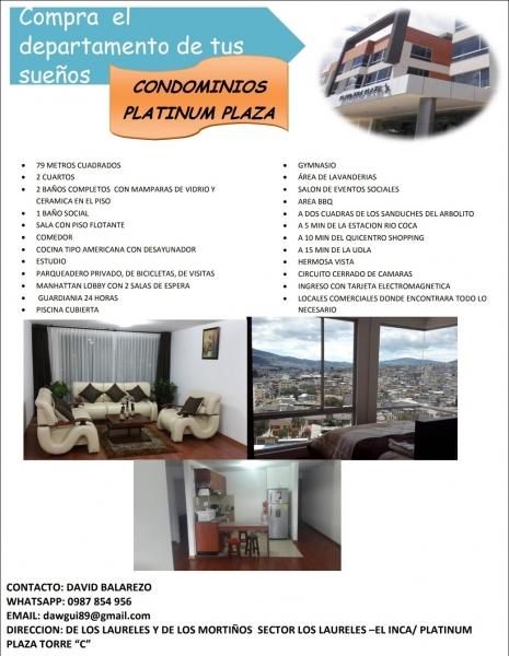 Hermoso departamento de venta en Condominios Platinum Plaza
