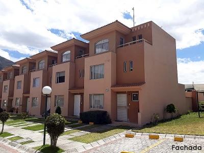 Arriendo casa Pusuqui, frente a Dos Hemisferios,conjunto Santa Fe de Pusuqui,3 pisos $400 2353232,0997592747,0958838194