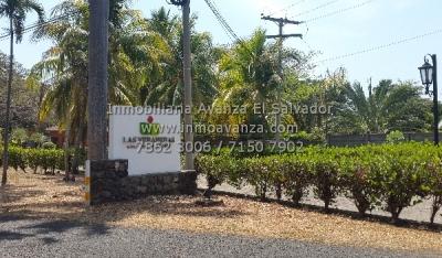 Terreno en venta en Las Veraneras Club de Playa, plano, 2,555v2 a $45,000 neg