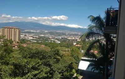 Venta de Apartamento con Vista a las Luces de la Ciudad, Paco, Escazú
