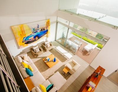 Casa contemporanea, Vista espectacular