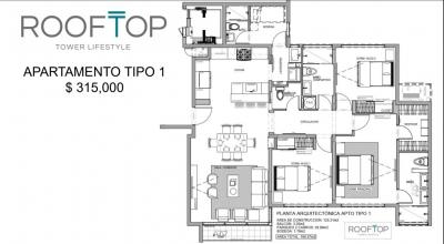 CityMAx vende amplio y hermoso apartamento en el corazon de Escazú