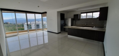 Apart en Escazú / De 3hab 5to piso con linda vista en condo Eco-urbano