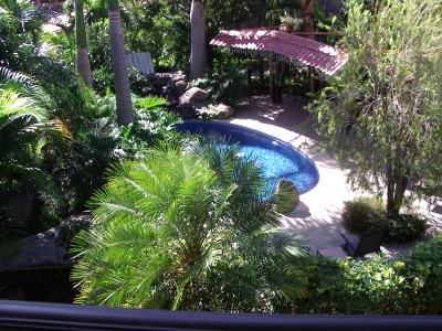 Apartamento amueblado en alquiler en Pozos, Santa Ana