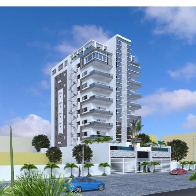 Torre de Apartamentos en Alma Rosa