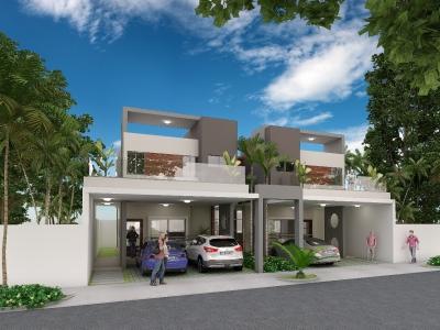 casas en Brisa Oriental, 3hab, baños 2.5, 2 parq, RD$3,400,000