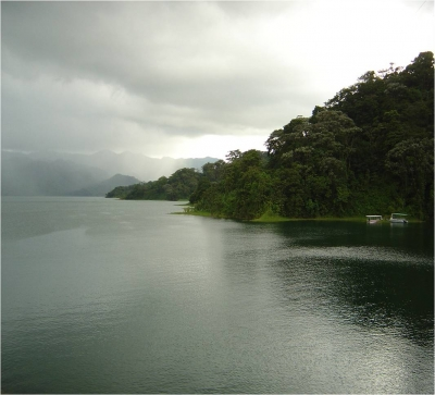 finca frente al lago # 5 vista al volcan