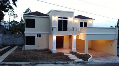 Casa en venta en Fraijanes, Km. 16.5 Carretera a El Salvador, en condominio con garita, cerca Olmeca