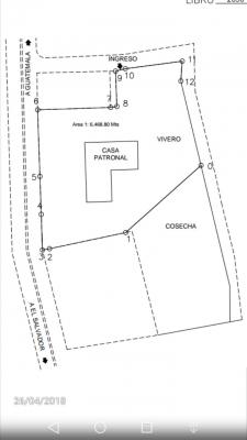 TERRENO KM. 24.5 CARRETERA A EL SALVADOR