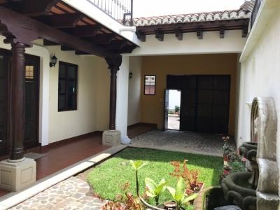 HERMOSA CASA EN ALQUILER CF6 SIN MUEBLES A 5 MINUTOS DE LA ANTIGUA GUATEMALA US$850