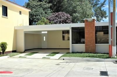 Acogedora casa nueva de un nivel en venta para estrenar en Residenciales Villa Beatriz