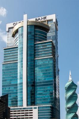 Torre Global Bank en calle 50 alquilo oficina amoblada