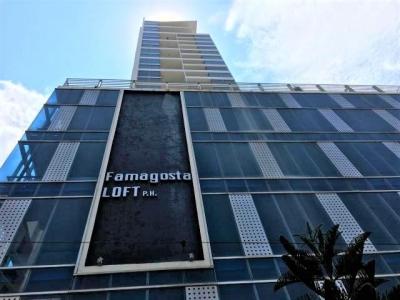 Vendo Apartamento Amoblado en PH Famagosta Loft, San Francisco 18-3085**GG**