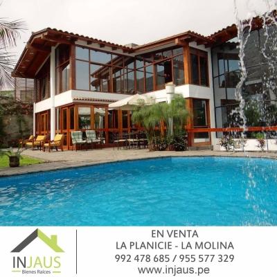 VENTA DE CASA - LA PLANICIE - LA MOLINA