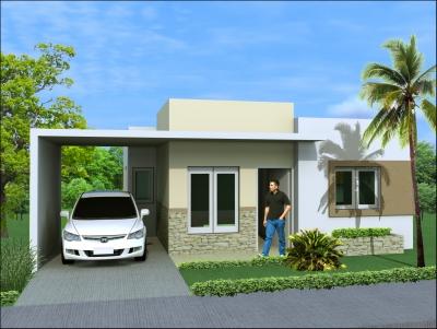 Casa en Nagua 3 habitaciones desde 200Mts de Solar