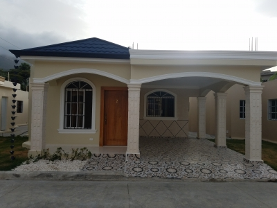 Casa nueva en proyecto Cerrado