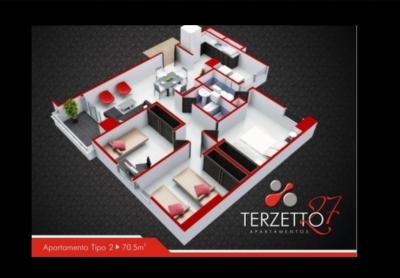 Apartamento En Bucaramanga - Terzzeto 27