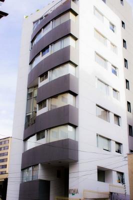 Bonito departamento ubicado en un sector tranquilo Norte de Quito,  con acabados de calidad  con 6 años de construccion