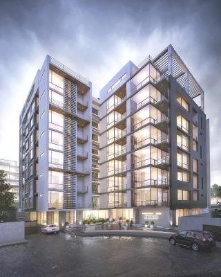 Nuevo Departamento de 2 Habitaciones con Amplias Áreas Internas y Acabados de Lujo. Los Interiores y Acabados se hizo con Adriana Hoyos. Linda Vista a la Ciudad.