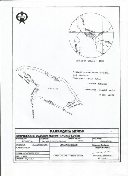 EXCELENTE TERRENO PARA DESARROLLO HABITACIONAL y/o PROYECTO TURISTICO