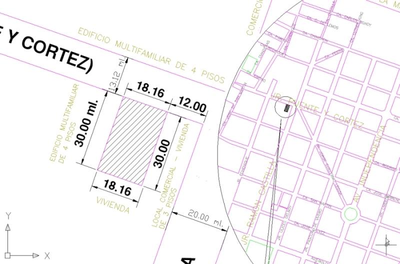 Terreno 545m2- PARAM 10 pisos